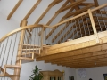 Spindeltreppe Andalucia in Buche